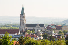 Monastère et église de Stift Klosterneuburg Image libre de droits