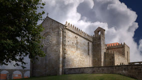 Monastère européen médiéval Photo stock