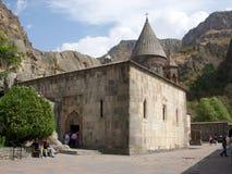 Monastère Geghard, Arménie Images libres de droits