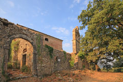 monastère grec Image libre de droits