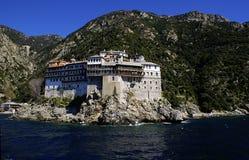 Monastère Grigoriou Photo libre de droits