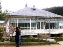 Monastère intérieur d'Agapia, Moldavie photographie stock libre de droits