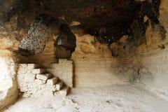 Monastère intérieur d'Aladza photographie stock libre de droits