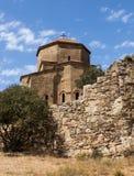 Monastère la Géorgie de Jvari Photo stock