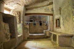 Monastère médiéval Images libres de droits
