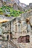 Monastère médiéval de geghard en Arménie Image stock