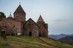 Monastère médiéval de Goshavank Région de Dilijan image libre de droits