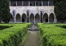 Monastère médiéval dominicain de Batalha, Portugal Photos stock