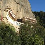Monastère méga de Spilaio dans Kalavryta Image libre de droits