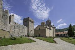 Monastère Manasija photo stock