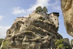 Monastère Meteora de Varlaam Images libres de droits