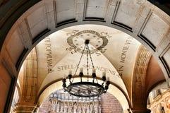 Monastère Montserrat d'éléments et de détails Images libres de droits