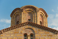 Monastère neuf de Dionysiou Images libres de droits