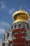 Monastère neuf de Jérusalem dans Istra Photo libre de droits