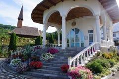 Monastère Oradea Entrez dans la boutique monastique images stock