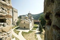 Monastère orthodoxe Photographie stock