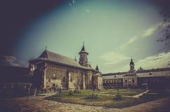 Monastère orthodoxe de› de NeamÈ en Roumanie photographie stock libre de droits