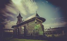 Monastère orthodoxe de› de NeamÈ en Roumanie image stock