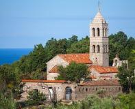 Monastère orthodoxe de Rezevici, Monténégro photos stock
