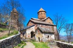 Monastère orthodoxe de Sapara, la Géorgie Image stock
