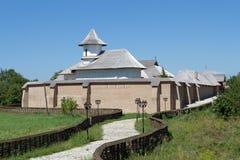 Monastère orthodoxe enrichi par chrétien photographie stock libre de droits