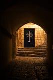Monastère orthodoxe grec Images stock