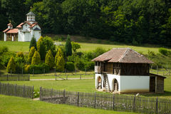 Monastère orthodoxe Kaona Image libre de droits