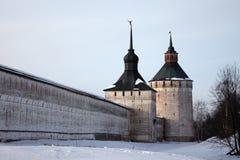 Monastère orthodoxe, Russie Images libres de droits