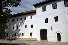 Monastère orthodoxe serbe de Visoki, Decani, Kosovo photos stock