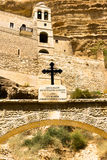 Monastère patriarcal de St George, désert de Judean Photo libre de droits
