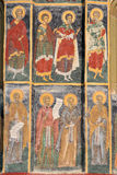 Monastère peint Image libre de droits