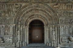 Monastère portail Santa Maria Image stock