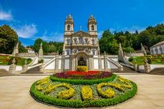 Monastère Portugal de Braga images libres de droits