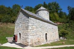 Monastère près de Tara Canyon Zabljak, Montenegro Images libres de droits