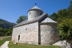 Monastère près de Tara Canyon Zabljak, Montenegro Photo stock