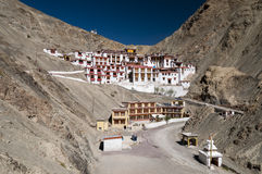 Monastère Rhizong, Ladakh, Inde de Budhist Photos stock