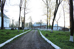 Monastère roumain image stock