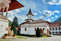 Monastère Roumanie de Brancoveanu Images libres de droits