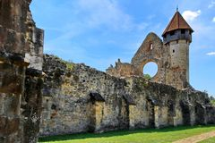 Monastère Roumanie de Carta Photo stock