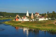 Monastère russe Photos stock