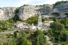 Monastère saint d'hypothèse dans Bakhchisaray Photo libre de droits