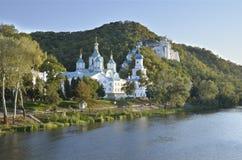 Monastère saint de Lavra d'hypothèse Images libres de droits
