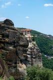 Monastère saint de Meteoron grand Images stock
