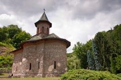 Monastère saint de Prislop en Roumanie Photos libres de droits
