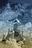 Monastère saint de protection, Kiev Photographie stock libre de droits