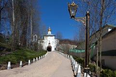 Monastère saint de Pskov-cavernes de Dormition Images stock