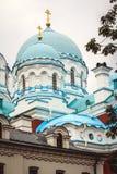 Monastère sur l'île de Valaam Photo stock