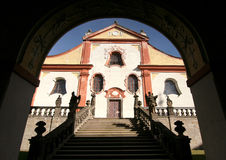 Monastère Svata Hora photographie stock
