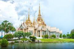 Monastère thaï Photos stock