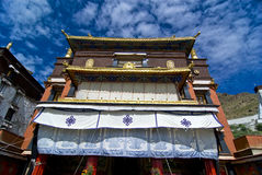 Monastère tibétain Photographie stock